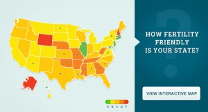 Map and rankings created by RESOLVE: The National Infertility Association